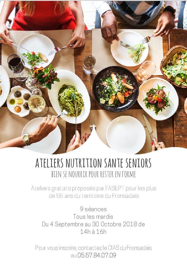 ATELIERS NUTRITION SANTE