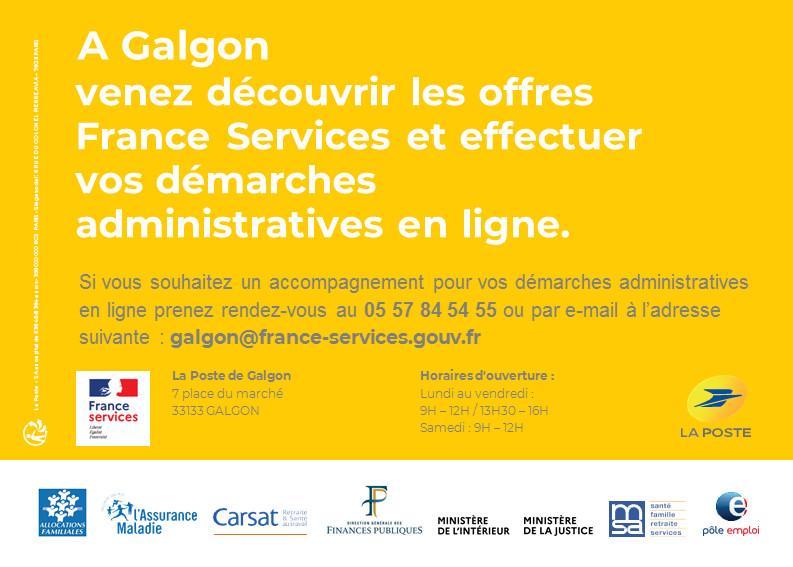 FRANCE SERVICE est à GALGON