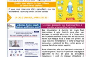 Informations estivales CIAS du Fronsadais
