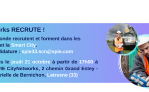SPIE city Networks Gironde recrute