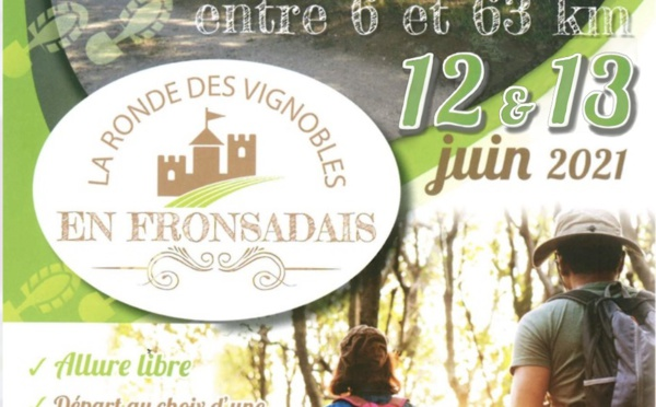 Ronde des vignobles en Fronsadais 2021
